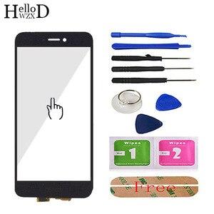 Image 2 - 5.2 screen screen tela sensível ao toque para huawei honor 8 lite tela de toque de vidro digitador do painel touchscreen frente lente vidro sensor adesivo