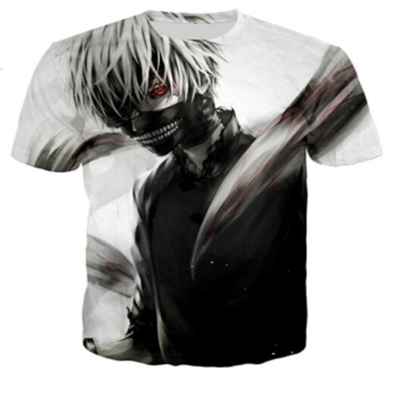3D print T shirt men's Tops custom made Tee unisex T shirts Couple clothing Short sleeve White t shirt Fogimoya Tee Plus size 5X