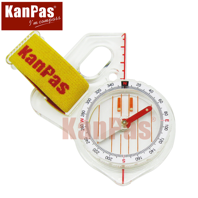 stock buttom price sale KANPAS trainning orienteering compass Basic thumb compass free shipping MA 40 F
