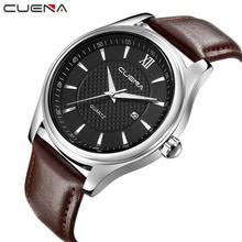 Mens Watches Top Brand Luxury Military Sport Male Clock relogio masculino Mens Business Retro Design Leather Band Wrist 6*kds