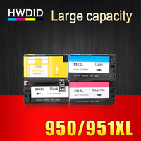 1 Set Full Ink Cartridge For Hp 950 Xl 951 Xl Compatible For Officejet Pro 251dw