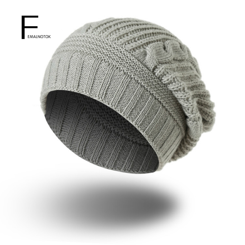 Fashion autumn and winter women beanie caps high quality soft designer knitted hat soft warm solif color Skullies hats
