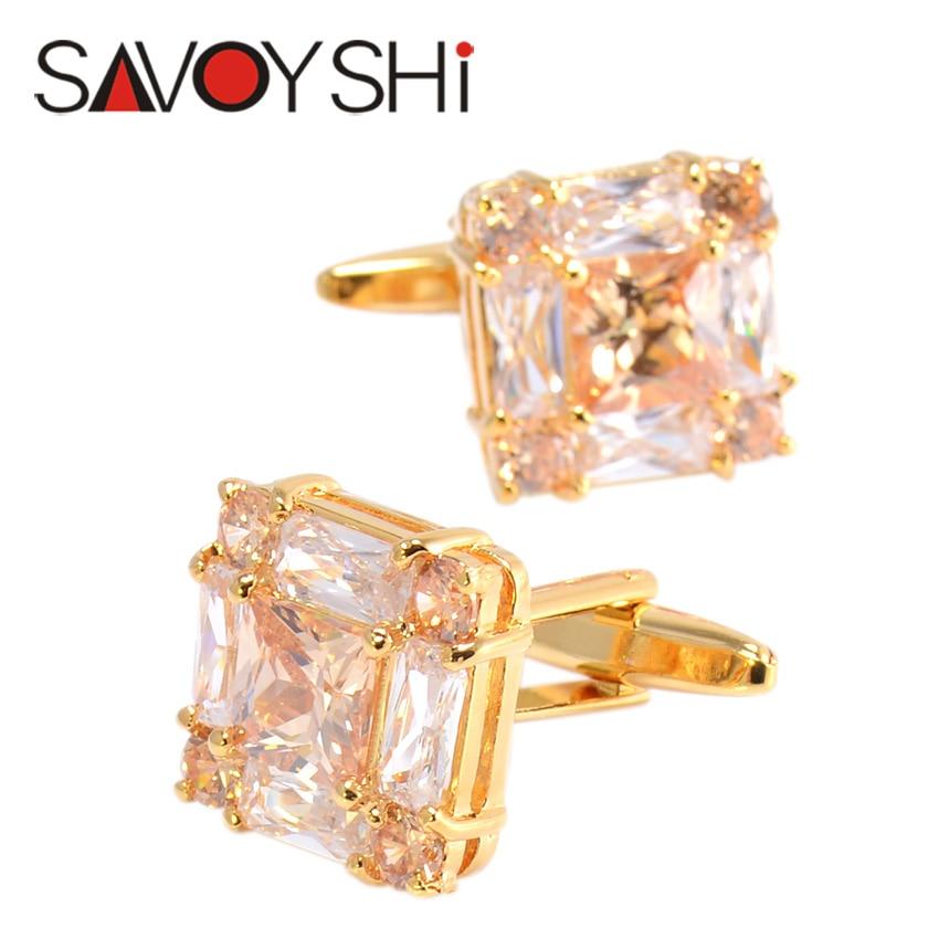SAVOYSHI շքեղ ircիրկոնյան ճարմանդներ - Նորաձև զարդեր - Լուսանկար 2
