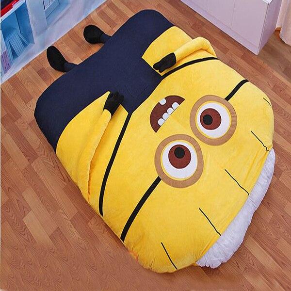 Brilliant 1 5 2 M Cute Minions Sleeping Bed Big Stuffed Animals Inzonedesignstudio Interior Chair Design Inzonedesignstudiocom