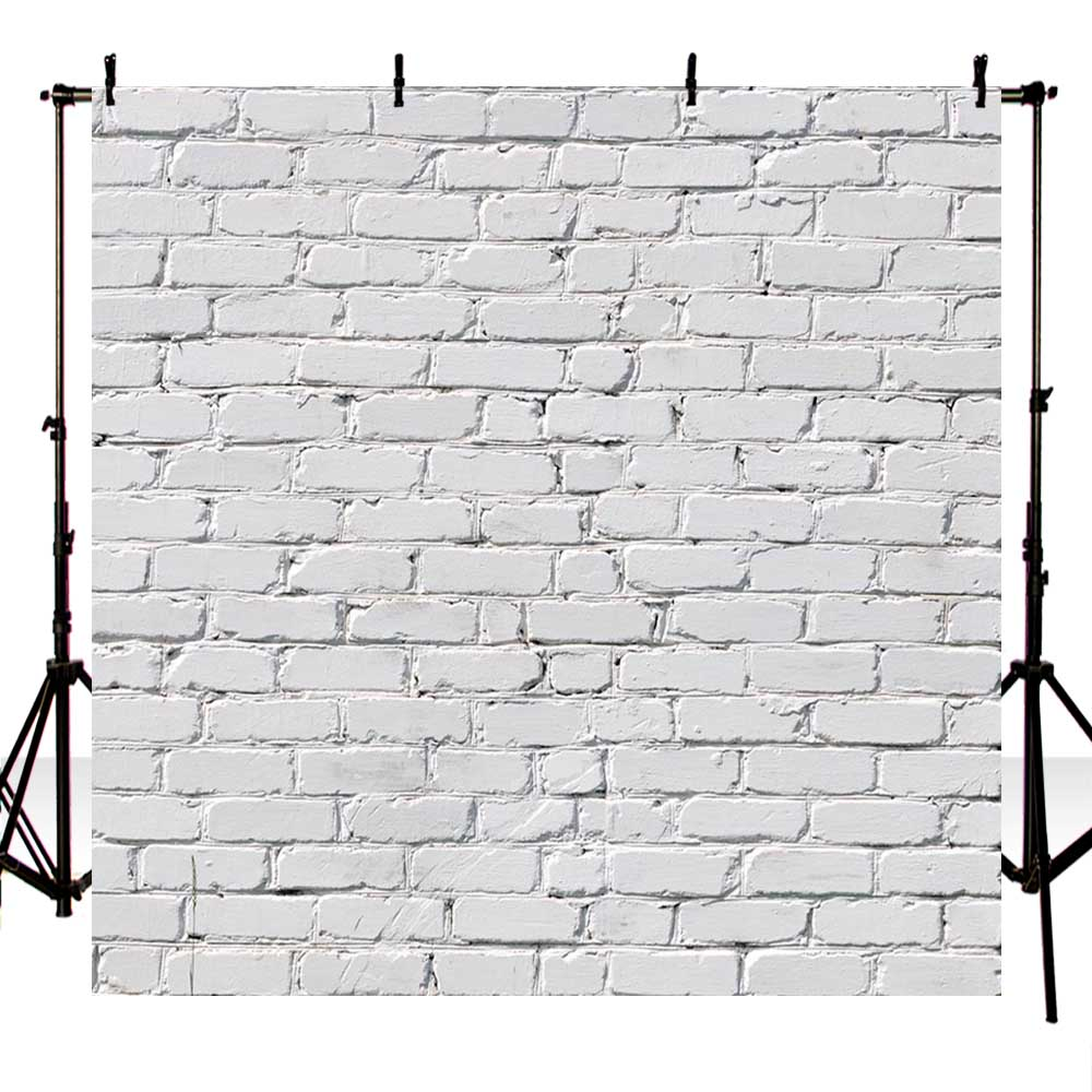 5X7ft Thin Vinyl Photography Backdrop Background White brick wall Photo Background wall backdrops for photo studio f-1465 shanny new year backdrop vinyl custom photography backdrops prop photo studio background xn281
