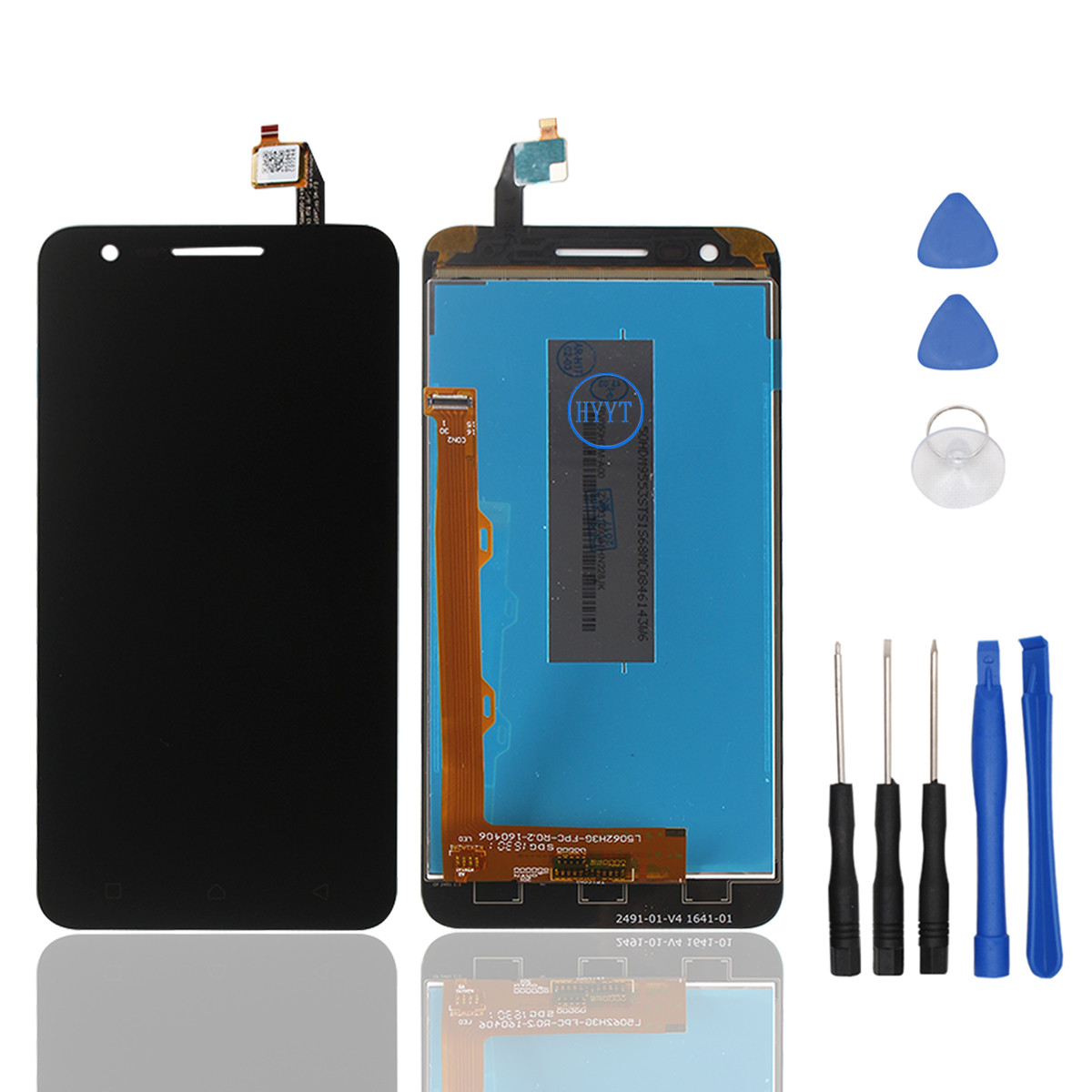 For Lenovo C2 K10a40 LCD Display and Touch Screen Assembly Repair Part  Mobilephone For Lenovo Vibe C2 Tools High Quality