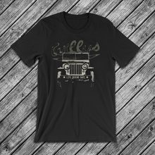 Willys Jeep Life Behind Bars T-Shirt Rubicon Cj Car Brand T Shirt 2018 Fashion Round Neck Best Selling Male Natural Cotton Tees(China)
