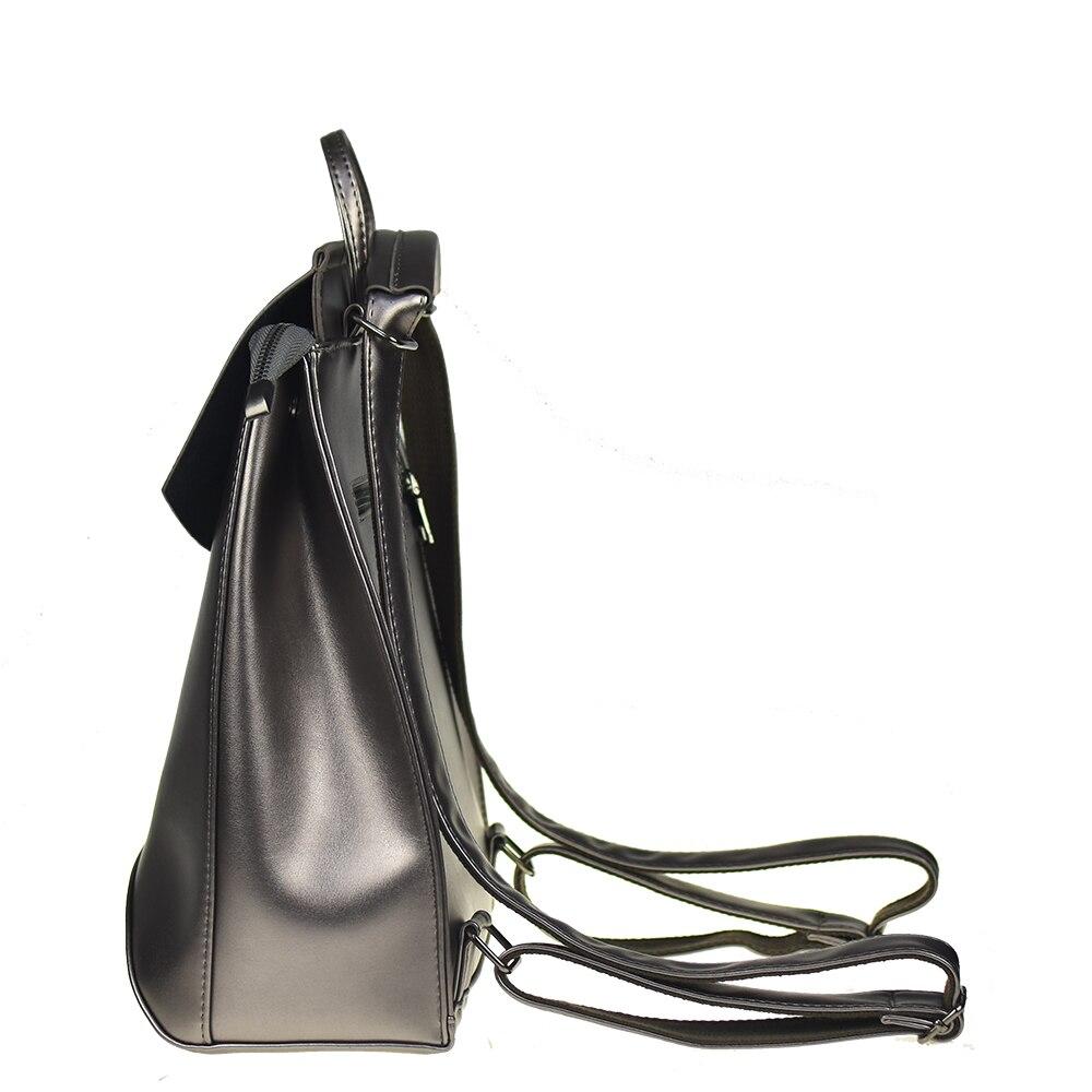 Fashion Women Backpack High Quality Pu Leather Backpacks For Teenage Girls Female School Shoulder Bag Bagpack Mochila #3