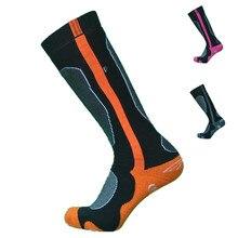 1 пара, европейские плотные махровые зимние термо-носки, длинные носки для сноубординга, детские носки, мужские носки