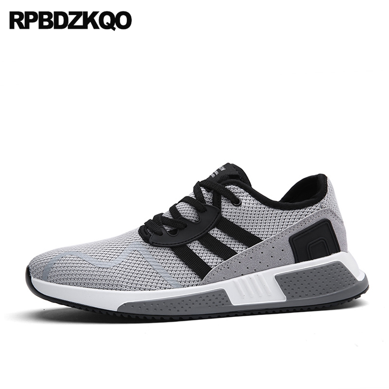 Walking Lace Up Fashion New Trainers Summer Breathable Mesh Casual Shoes Hot Sale Sneakers Comfort Popular Spring Stylish Autumn 2017 new arrival spring men casual shoes mens trainers breathable mesh shoes male hombre hip hop street shoes high quality