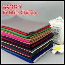 H65 100 個トップ販売バブルシフォンヒジャーブイスラム教スカーフ最高ショール 180*75 選択することができ色