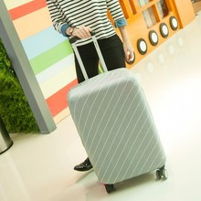 18inch to 30inch elastic suitcase protective cover/protector pure color Suitcase Twill stretch Fabric dust cover 6 colors