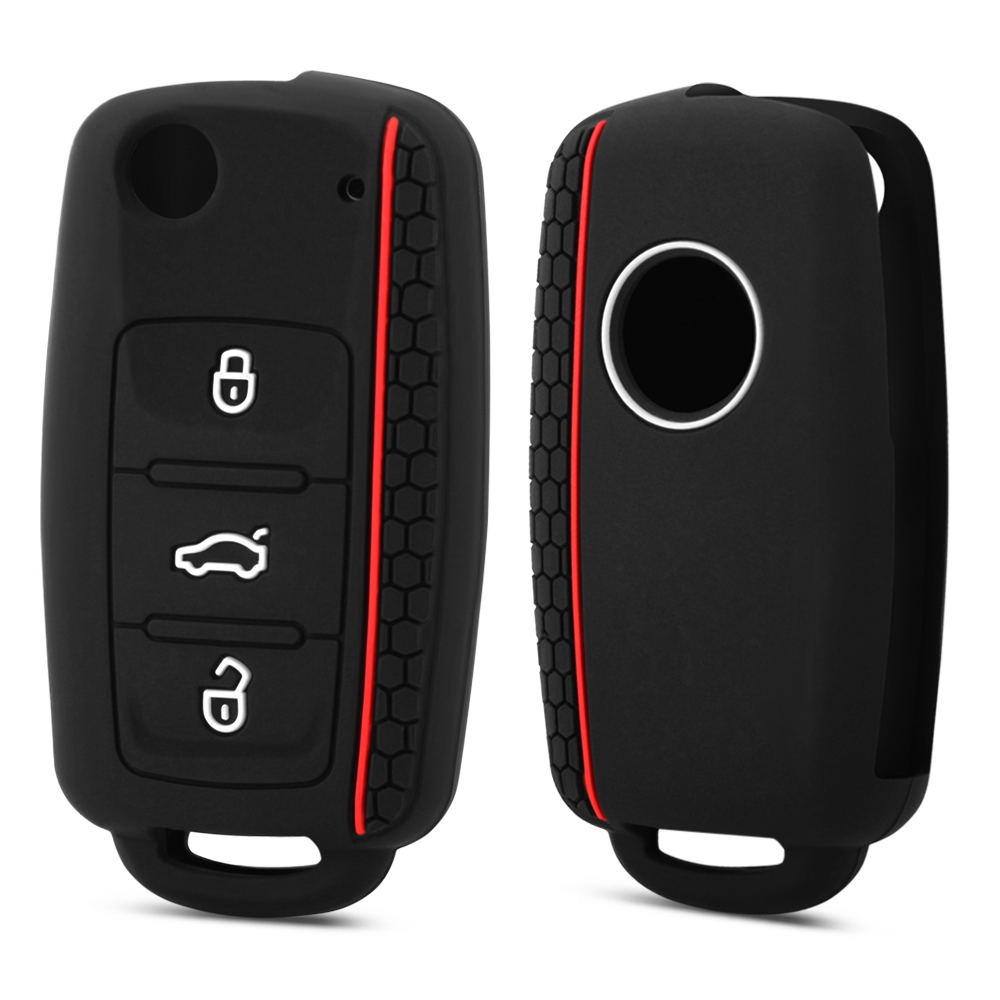 Case Car-Key-Cover Superb Seat Leon Yeti Rapid Octavia Golf Silicone Ibiza For Skoda