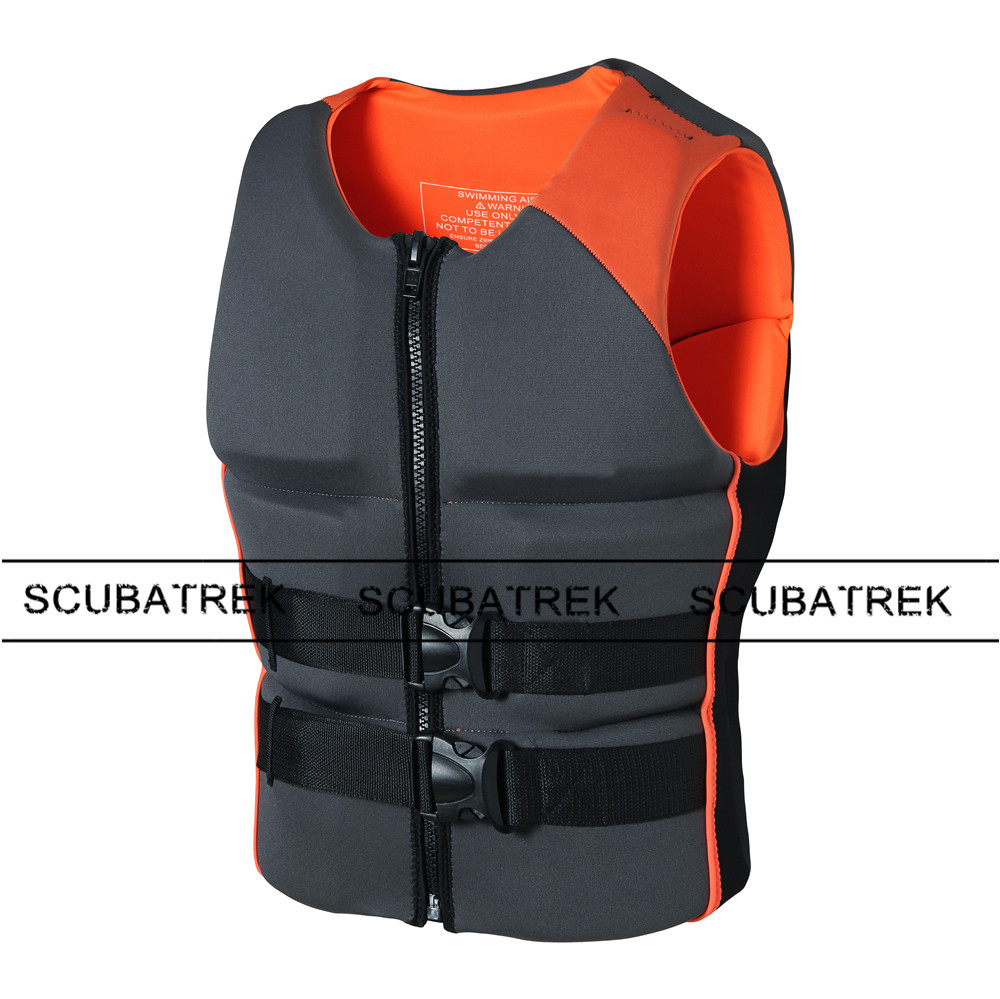 adult life vest neoprene floating vest swim life jacket surfing vests float swimsuit life jaket swim