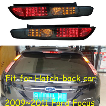 Video display Car bumper lamp for 2009 2010 2011 year for FORD Focus hatchback LED car accessories focus Tail Lamp rear lights