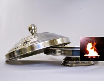 Casserole de colombe électrique à flamme automatique (Double charge), tour de magie, magie de scène, gros plan, illusions, magie du feu, accessoires