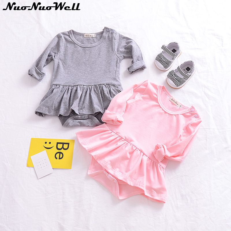 2018 Baby Rompers in Summer Baby Girl Clothes Cotton Baby Girl Clothing Infant Roupas Bebes Newborn Clothes Infant Jumpsuits