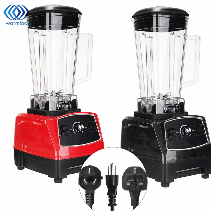 Multifunctional Food Processor Juicer Soybean Grinder Meat Mincer Smoothie Maschine 2200W 2L Household glantop 2l smoothie blender fruit juice mixer juicer high performance pro commercial glthsg2029