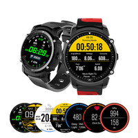 Bluetooth smart sports watch IP68 level waterproof support swimming running boarding bike Apple Android dual platform for boys