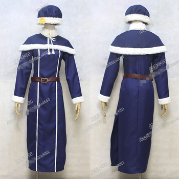 Fairy Tail Juvia Lockser Uniforms Cosplay Costume Free Shipping
