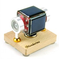 Tiny Mendocino Motor sun toy science physics Educational toys working on cloudy days