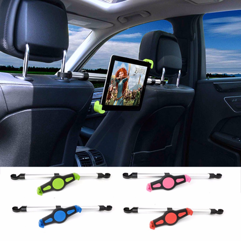 Universal Aluminum Alloy Car Back Seat Mount Stand Holder For 7