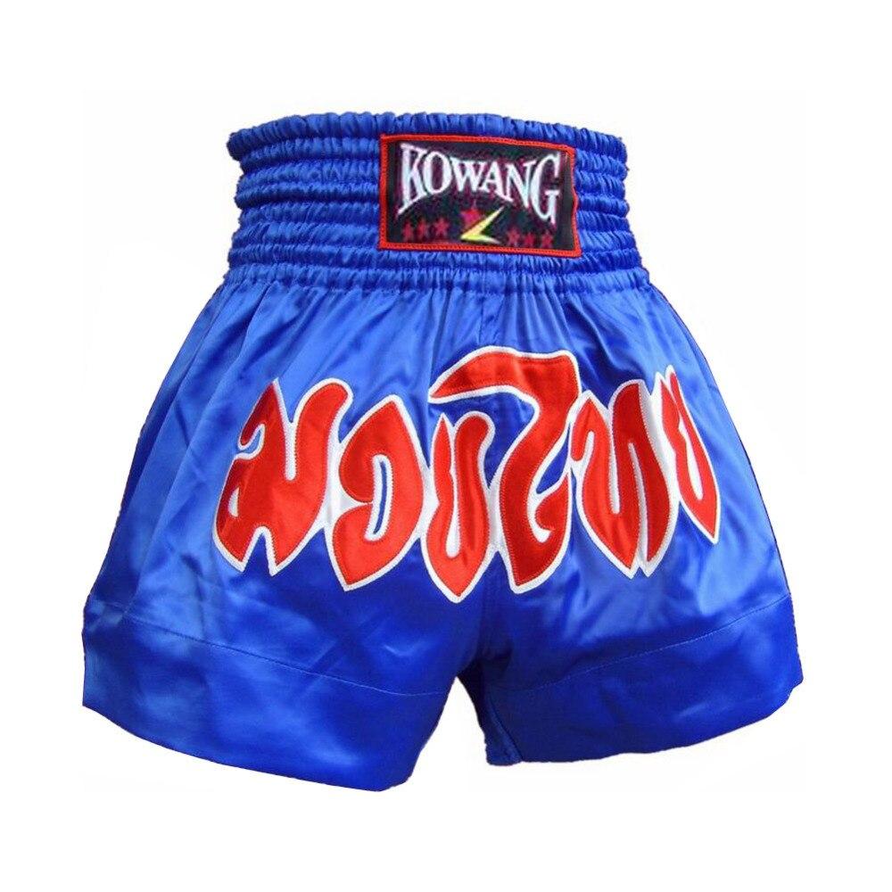 Pantalones de boxeo profesionales Retro Muay Thai Shorts Polyster - Ropa deportiva y accesorios