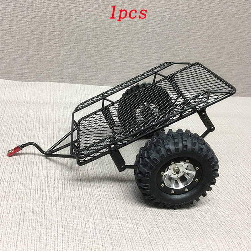 1pcs Simulated Crawler Cars Metal Hitch Mount Trailer Bucket RC Trailer Hopper Frame for 1/10 D90 SCX10 CC01 DIY RC Model Cars1pcs Simulated Crawler Cars Metal Hitch Mount Trailer Bucket RC Trailer Hopper Frame for 1/10 D90 SCX10 CC01 DIY RC Model Cars