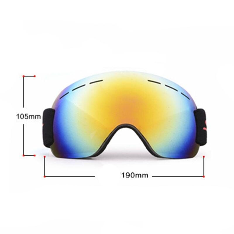 49a090bdbf Compre Gafas HD Lente UV Diseño Esférico Almohadilla De Esponja De ...