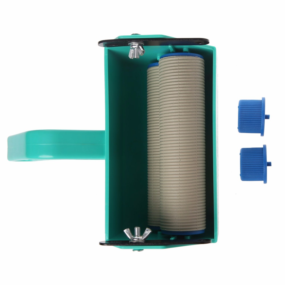 Single Color Decoration Paint Painting Machine For 5 Inch Wall Roller Brush Tool Green diy wall decoration tools 5 inch handle grip applicator plus 5 wall pattern painting roller 025y