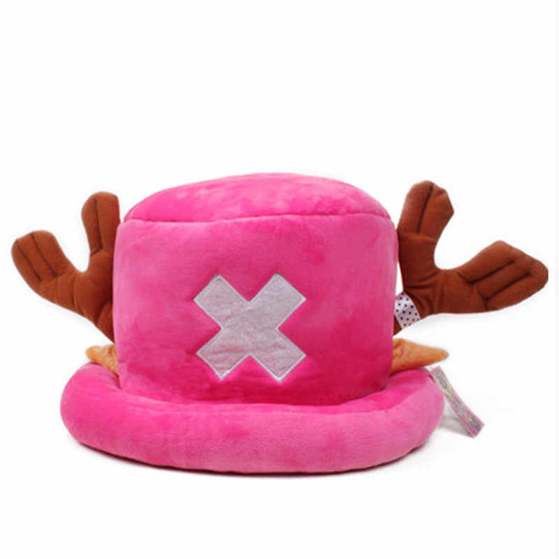 One Piece Tony Tony Chopper Japanese Anime Cosplay Five Colours Hats Cotton High Quality Unisex Gifts For Children