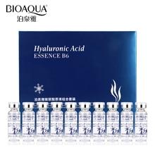 BIOAQUA, 10 шт./лот, увлажняющая сыворотка с гиалуроновой кислотой и витаминами, уход за кожей лица, против морщин, против старения, коллагеновая эссенция, жидкая
