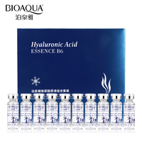 BIOAQUA 10 teile/los Feuchtigkeitsspendende Vitamine Hyaluronsäure Serum Gesichts Hautpflege Anti-Falten Anti Aging Kollagen Essenz Flüssigkeit