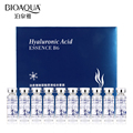 BIOAQUA 10pcs/lot Moisturizing Vitamins Hyaluronic Acid Serum Facial Skin Care Anti Wrinkle Anti Aging Collagen Essence Liquid