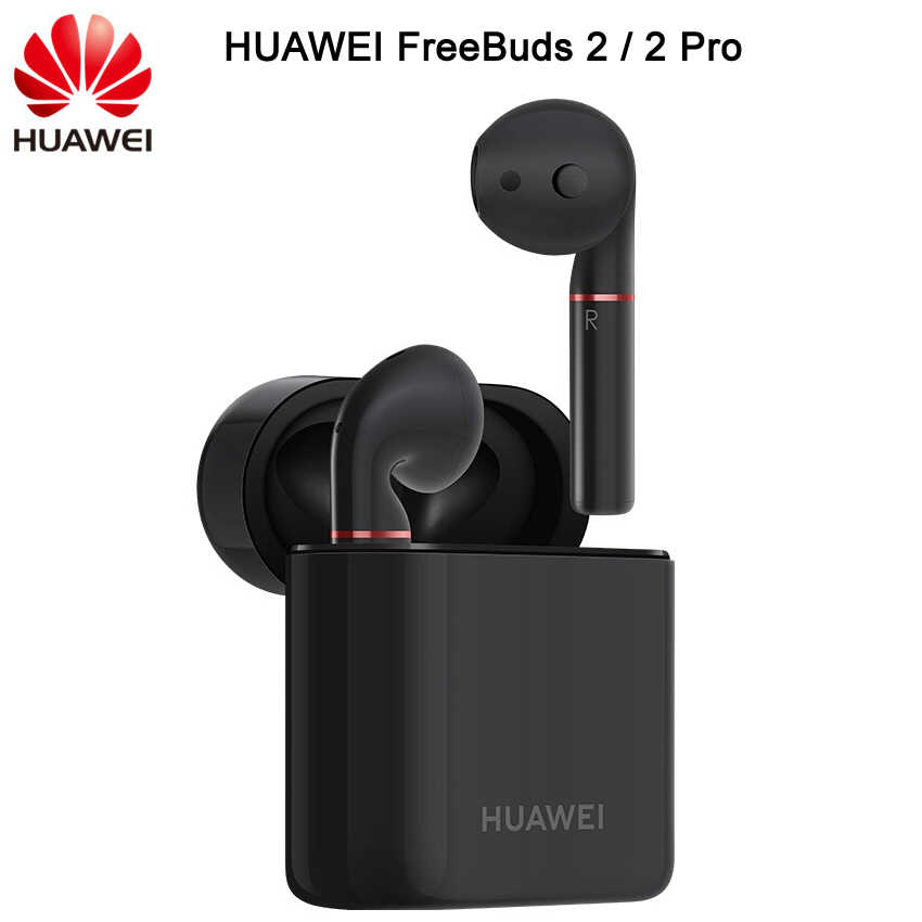 New HUAWEI FreeBuds 2 FreeBuds 2 Pro Bluetooth 5.0 Wireless Earphone with Mic Music Touch Waterproof Headset Handfree Dynamic