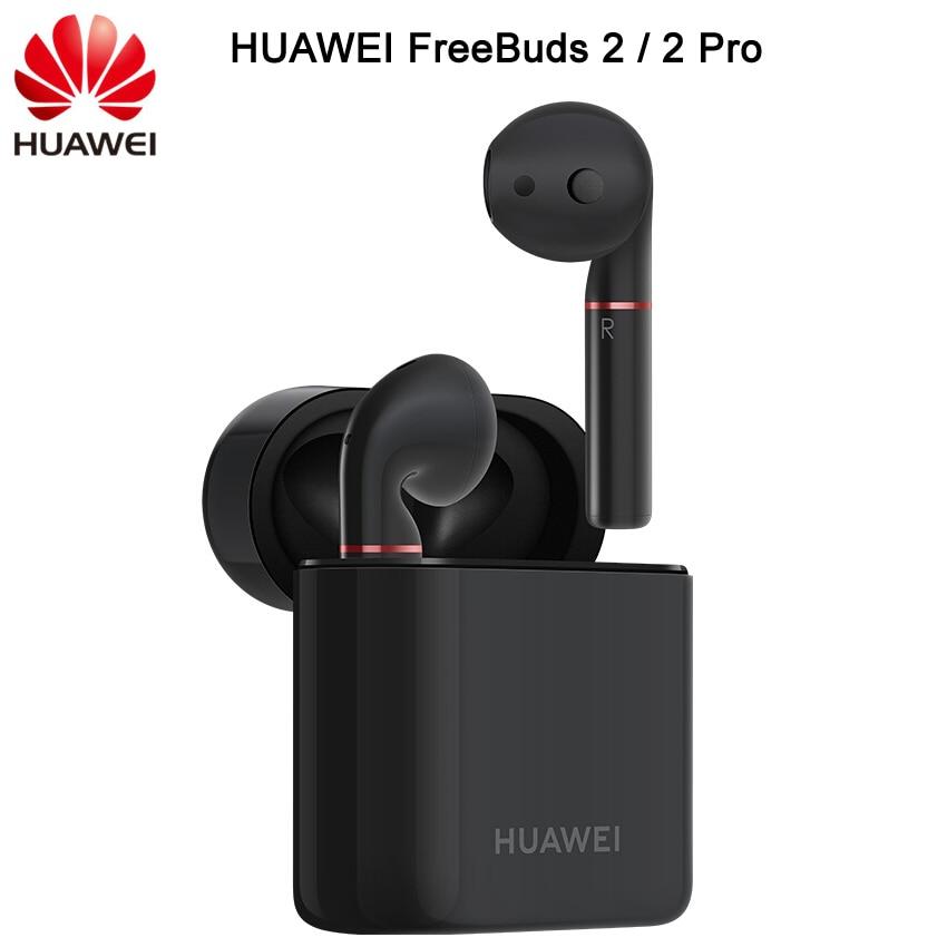 Nieuwe HUAWEI FreeBuds 2 FreeBuds 2 Pro Bluetooth 5.0 Draadloze Oortelefoon met Microfoon Muziek Touch Waterdichte Headset Handenvrij Dynamische-in Bluetooth Oordopjes & Koptelefoon van Consumentenelektronica op  Groep 1