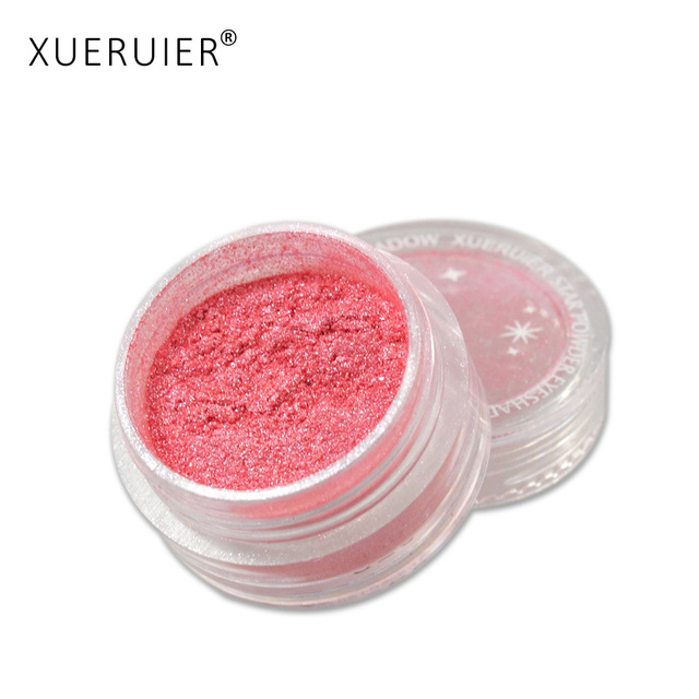 XUERUIER 20 Цветов Shimmer Тени для век Порошок Пигмента Минеральных Naked Матовый Маркеры Осветляет Тени Профессиональный Макияж Бренд