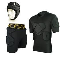 Мужские футболки для регби, футбольные шорты, футбольная одежда, рубашки, спортивные тренировочные куртки, короткий жилет, шлем