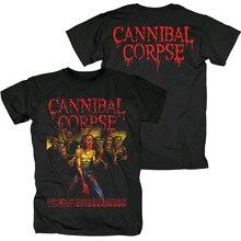 Bloodhoof,, новая черная хлопковая Футболка Cannibal Corpse death metal, экстремальный металл, панк, Азиатский размер