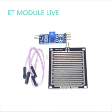 (1pcs)Rain Sensor Water Raindrops Detection Module Automatic watering Rain Weather Module Humidity For  Arduino Raspberry Pi