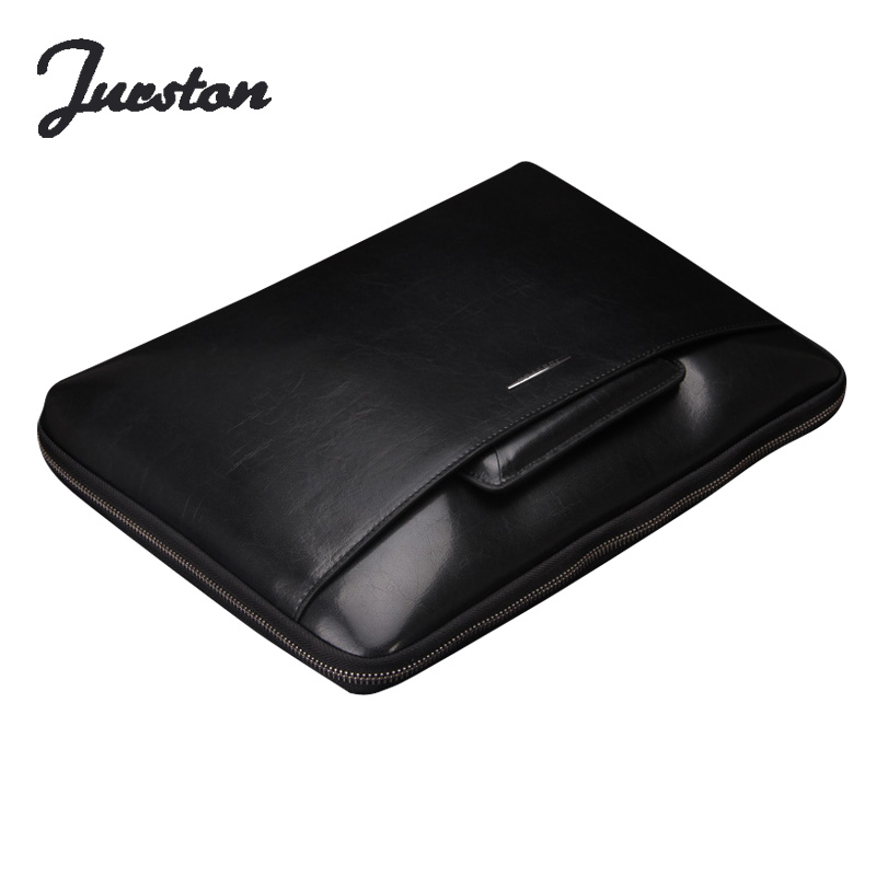 Alambre bolsa de hombre bolso horizontal bolsa de negocios de moda masculina pequeña luz portátil maletín de cuero genuino