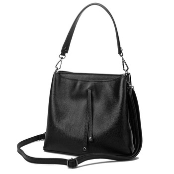 2019 New Style Shoulder Bag Brand Women Handbag Leather Bags Genuine Leather Handbags Crossbody Bucket Bag
