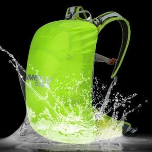 Image 5 - 20L دراجة حقيبة ظهر هيدراتية ، جبل المشي لمسافات طويلة التخييم سلم حقيبة المياه مع غطاء للمطر ، مقاوم للماء تشغيل حقيبة ظهر هيدراتية
