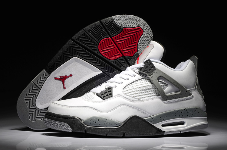 new style 55494 6d522 JORDAN 4 Basketball Shoes Low help JORDAN Sneakers 4 color Men Basketball  Shoes Jordan 4 size:41-47