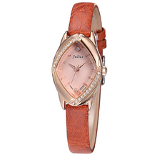 Julius 5 Colors Lady Watch Japan Quartz Hours Best Women s Fashion Dress Bracelet Leather CZ