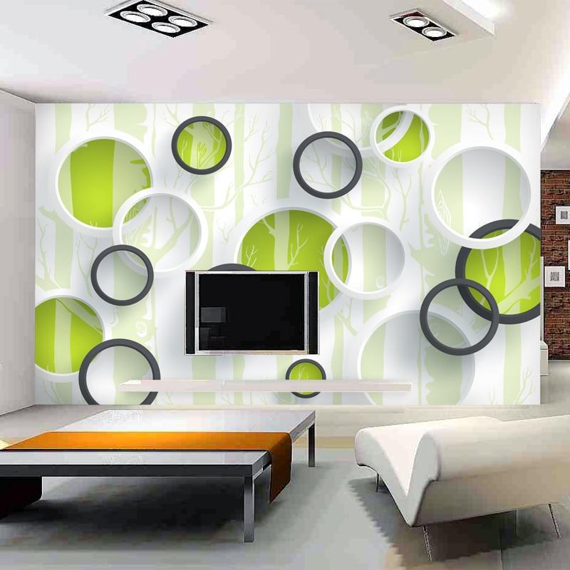 Beibehang de alta qualidade modern papel de parede 3d - Mural de fotos ...