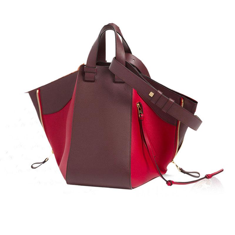 2018 Women Handbags Hammock Genuine Leather Bags Famous Design Large Tote Bags Designer Handbags Purse Shoulder Messenger Bags