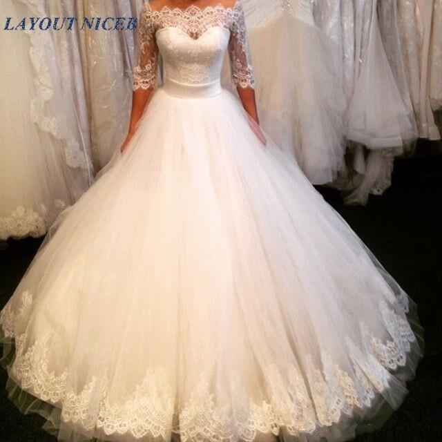 Classic Wedding Gowns 2018: Aliexpress.com : Buy 2018 Sexy Vintage Wedding Dress