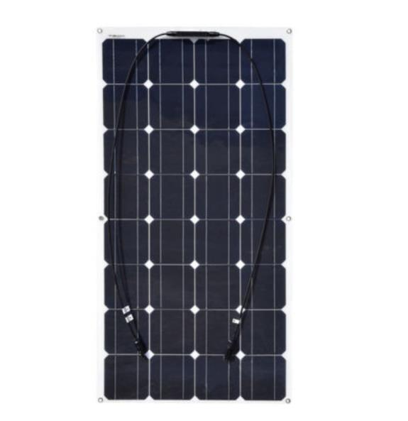 100w semi flexible solar panel made of new materials inexpensive