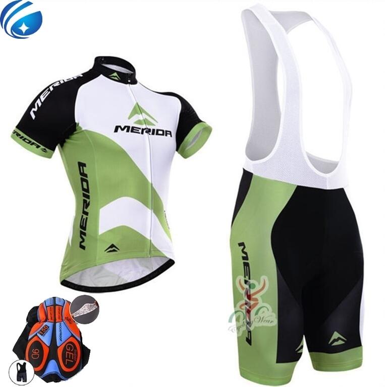 Цена за Новый Лето Быстро Сухой Гонки Велосипед Велоспорт Одежда Дышащий MTB Велосипедов Одежда Пурпурный MERIDA Задействуя Джерси